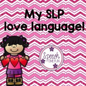 Have you ever taken the love language test? Believe it or not, you can actually use your results from the love language test to help you become a better SLP! Read how I used my own results to make me think about what I can strive to achieve in my speech room to speak to my love language!