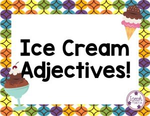 Ice Cream Adjectives - Speech Time Fun