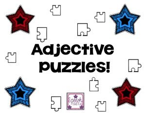 Adjective Puzzles - Speech Time Fun