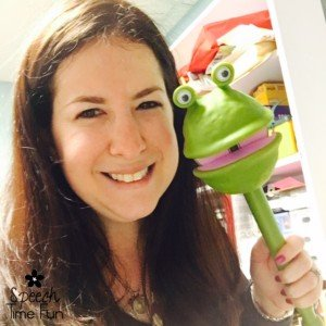 Puppets on a Stick! (How I used this extremely motivating toy in speech!)