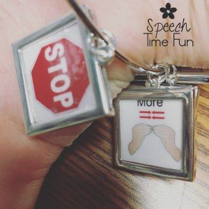 Bracelets are entering speech-language pathology as the hot new tool! A fellow SLP has started selling WH bracelets and other types of speech skill bracelets for use in therapy! These provide subtle ways to provide visual, nonverbal reminders to students. Read my review of these bracelets in this post!