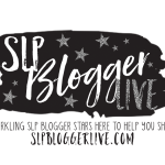 Brand New Informal Professional Development For SLPs (SLP Blogger Live)