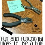Engaging and Functional Ways To Use A Hole Puncher!