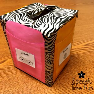 Low Prep Speech Therapy Ideas To Use An Empty Tissue Box