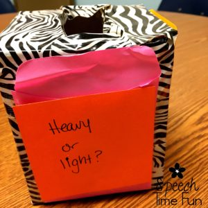 Empty tissue boxes can be a fun and unique tool to use in speech therapy, and, of course, they're low prep and DIY! I'm sharing tons of ideas for using an empty tissue box in your speech and language therapy sessions in this blog post. Click through to read my suggestions and see pictures demonstrating the uses!