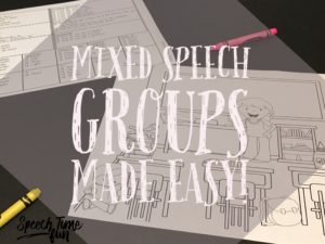 Mixed Speech Groups Made Easy