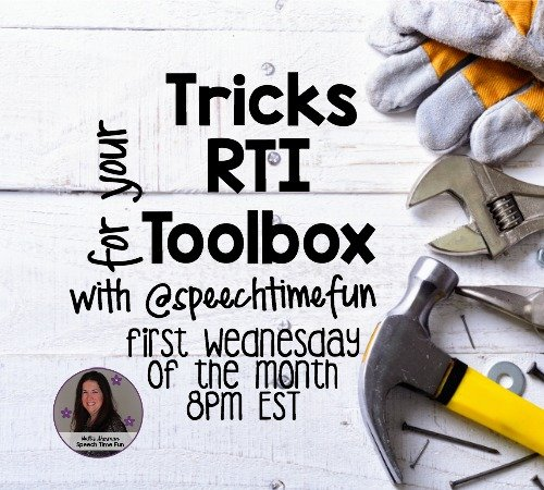 Tools For Your RTI Toolbox: Following Directions!