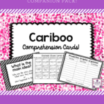 Cariboo Comprehension Cards For Speech Therapy