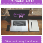 What is Facebook Live?  Why Should SLPs Tune In?