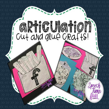 Articulation Cut and Glue Crafts