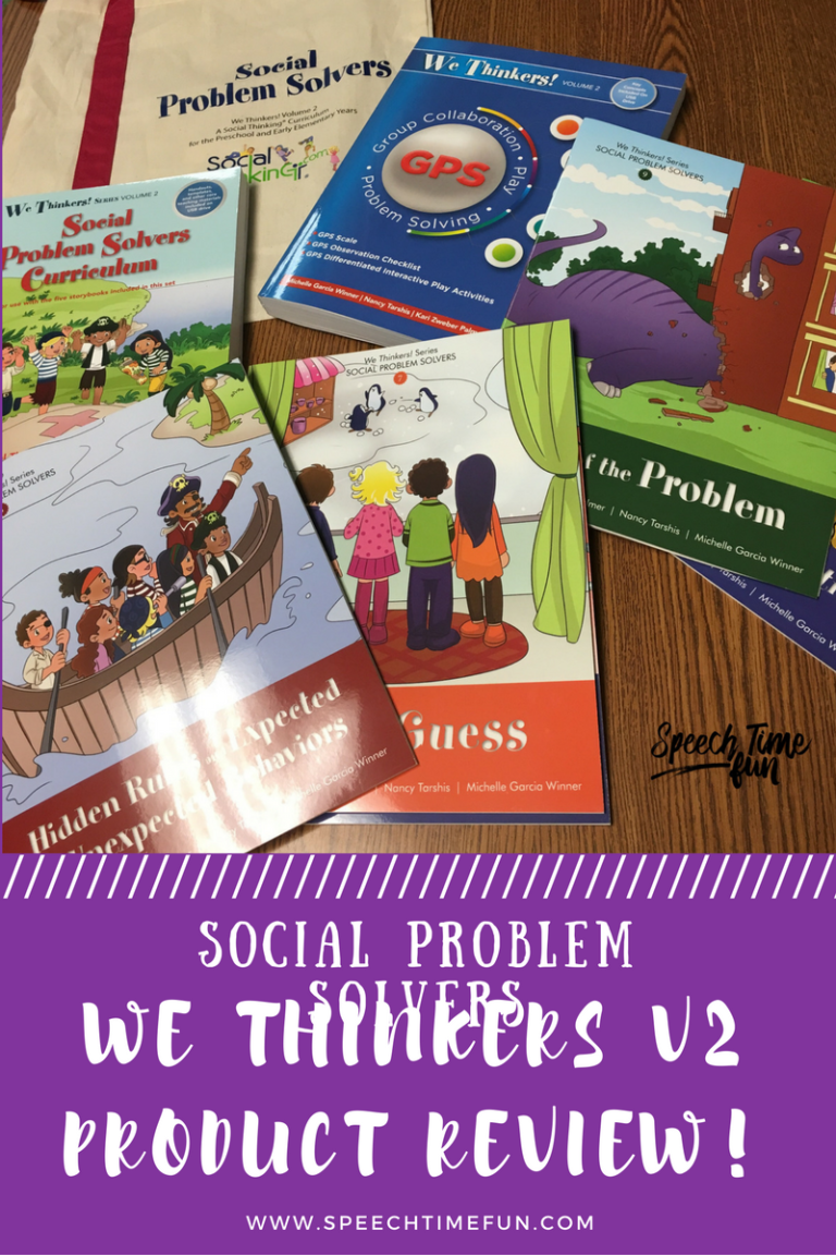 Do you love the Social Problem Solvers Curriculum? Social Problem Solves We Thinker Volume 2 is out, and I got to review it. Click here to read the review!