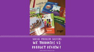 Social Problem Solvers We Thinkers Volume 2!  Product Review