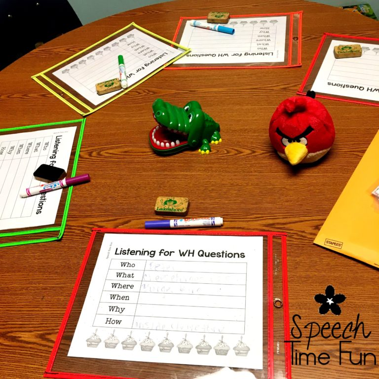 Dry erase markers are such a versatile classroom tool! This blog post includes several fun ways to use dry erase markers in speech therapy.
