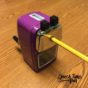 Best pencil sharpener for SLPs
