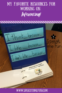 My 5 Favorite Resources For Working On Inferencing In Speech (that are NOT TpT products)