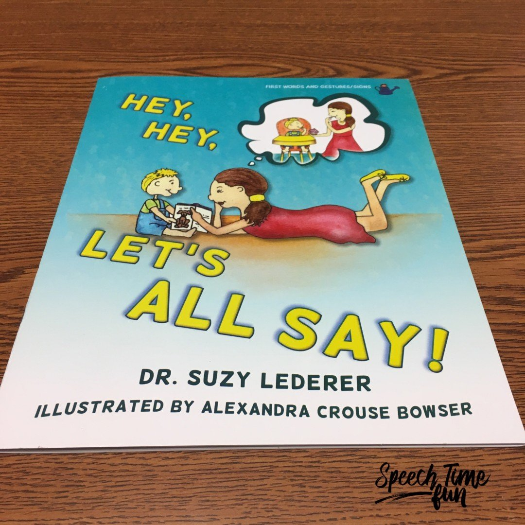 Product Review: Hey, Hey, Let's All Say Book