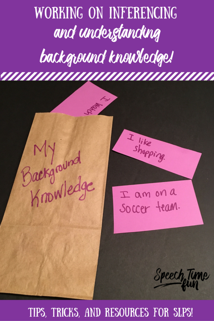 Looking for new ideas for working on inferencing? There are some strategies you can use that invoke students' background knowledge. Read more here!