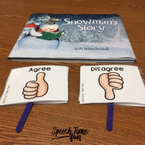 Use a wordless picture book to teach syntax, articulation, summarizing, and more skills to your groups all day — and make speech therapy fun and functional!