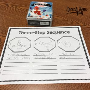 Curious to know how you might use the melting snowman toy in your speech therapy lessons? I'm going over several fun ideas inside this blog post!