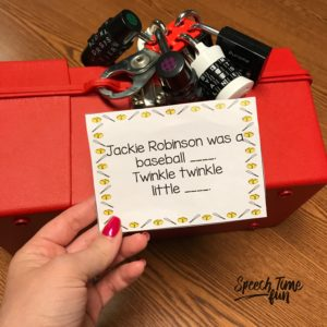 Do you want to try a breakout activity in speech but can't afford to buy one? Check out this DIY escape room-like tutorial! Perfect for an engaging lesson!