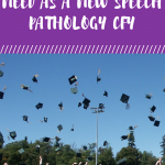 The 5 Things You Need As A New Speech Pathology CFY