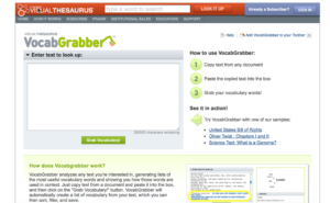 VocabGrabber is an app that allows you to determine important vocabulary terms in texts before reading with students. This blog post provides a tutorial on how to use VocabGrabber in your speech room! It's especially good for older students.