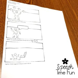 Comics are a great way to change up the routine in speech therapy. Check out this post full of low-prep ways to use comics in speech therapy - all easy and quick for your lesson planning needs!