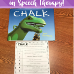 Why I Love Using The Book Chalk In Speech Therapy