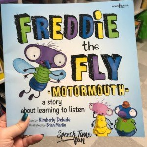 Freddie the Fly Motormouth is a new book that has great opportunities for SLPs to work on social skills with students! Click through to read my review!