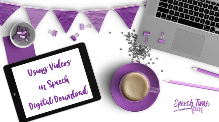 Using Videos in Speech Digital Download