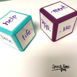 Are you using dry erase dice in speech? If your answer is no, you should change it to a yes! This post shares all the fun ways I use dry erase dice in speech therapy, so click through to check out the speech and language ideas!