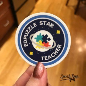 EdPuzzle is one of my favorite tools to use in speech therapy. This post details how I use this free tool in my speech therapy lessons, so check it out!