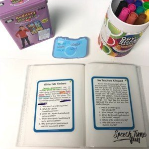 fun ways to use super duper fun decks in speech therapy in a pinch
