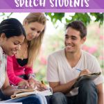 Building Rapport with Your Older Speech Students