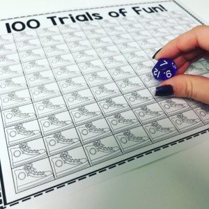 Get 100 trials with your speech students with this fun printable freebie