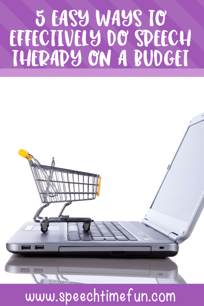 5 Easy Ways to Effectively do Speech Therapy on A Budget