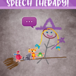 Using the Draw and Tell App in Speech Therapy