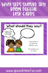 why SLPs should use digital boom task cards in speech therapy