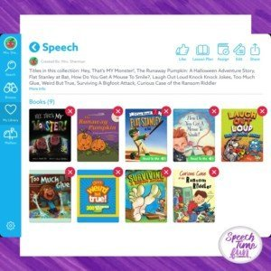 Using Epic Books in Speech Therapy