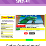 Letting Your Students Tell The News In Speech – Activity for Mixed Speech Groups