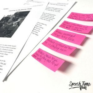 Why SLPs Should Use Sticky Note Tabs