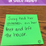 Using Nonsense Words To Teach Context Clues in Speech Therapy