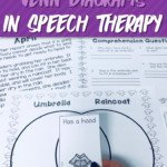 Using Venn Diagrams in Speech Therapy