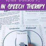 Using Venn Diagrams in Speech Therapy