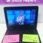 Using You Tube Videos to Work On Conjunctions in Speech Therapy