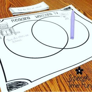 Using Venn Diagrams in Speech and Language Therapy
