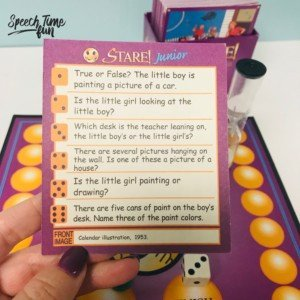 Fun Ways to Use the Game Stare Junior in Speech Therapy