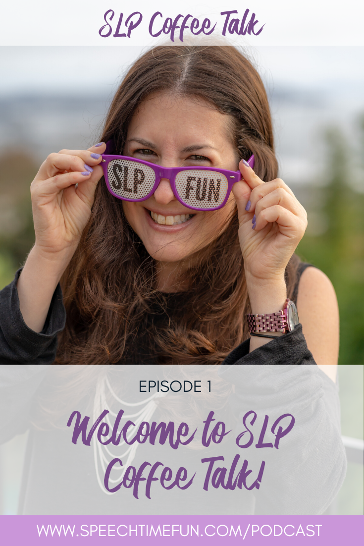 1: Welcome to SLP Coffee Talk