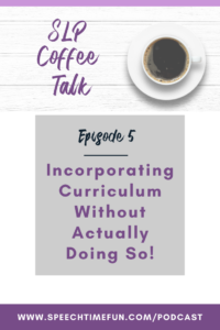 incorporating curriculum without doing so