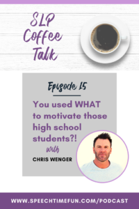 Chris Wenger Motivate High School Students